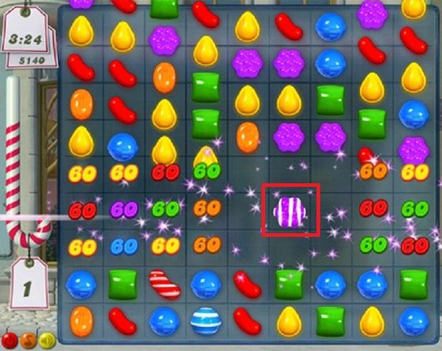 Resultado de imagem para doces listrados candy crush