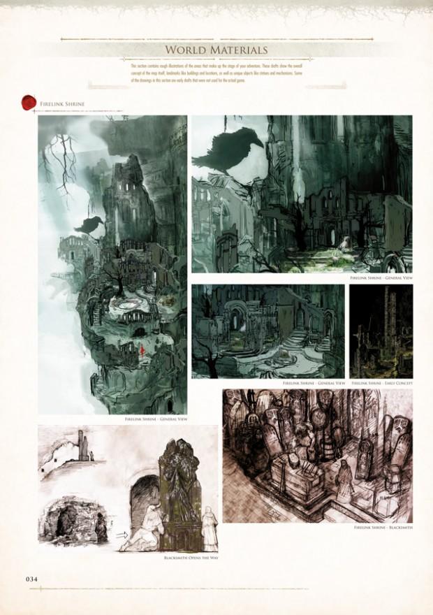 Udon traz livro com arte de dark souls para o ocidente for Dark souls 3 architecture