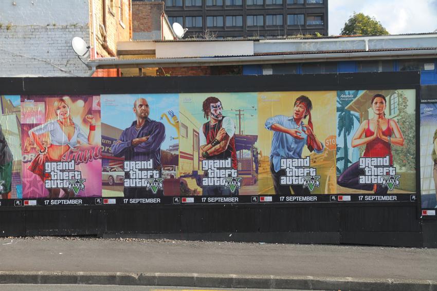Novo poster de GTA V revela possíveis novos personagens - Critical Hits