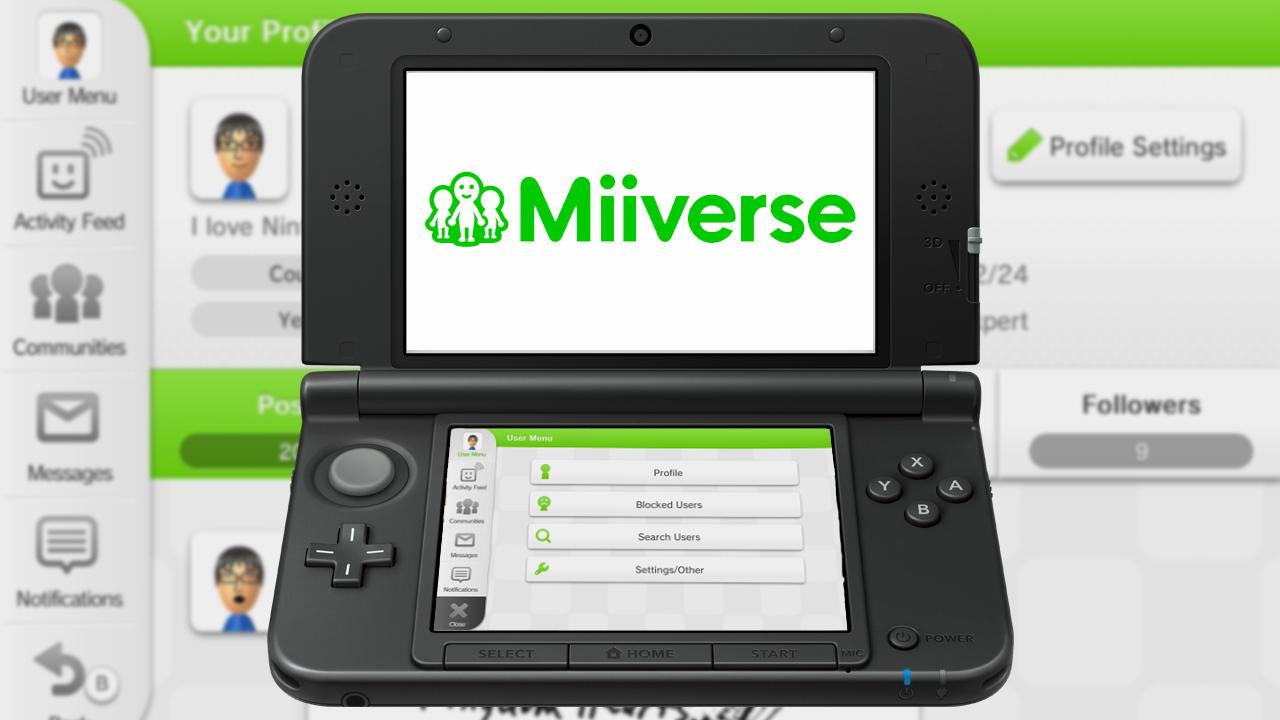 [3DS] Nintendo anuncia Miiverse, Nintendo Network ID e contas unificadas  Miiverse2
