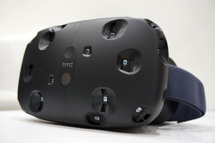 O Re Vive, dispositivo de realidade virtual da Valve, está sendo produzido em conjunto com a HTC