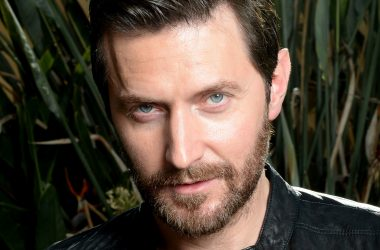 English actor Richard Armitage poses for photographs in Sydney, Monday, April 29, 2013. (AAP Image/Tracey Nearmy)