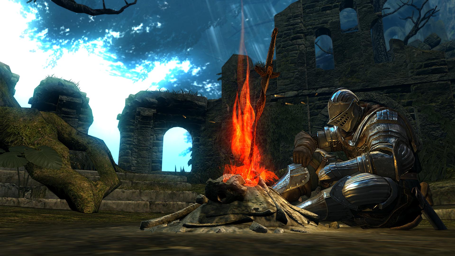Resultado de imagem para Dark Souls - Bonfire