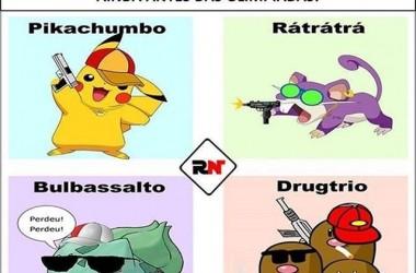 Jogar Pokémon GO com a insegurança que está no Brasil vai ser dureza #pokemongo
