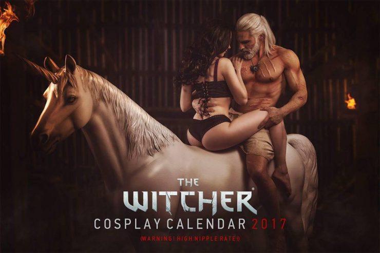 Resultado de imagem para calendário de the witcher 2017