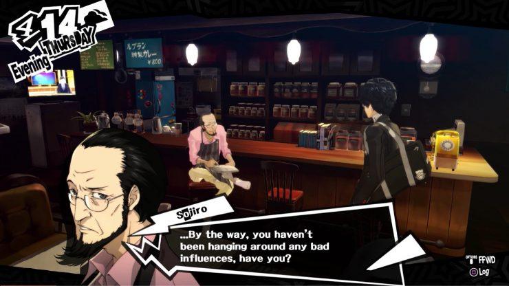 Diálogo de Persona 5