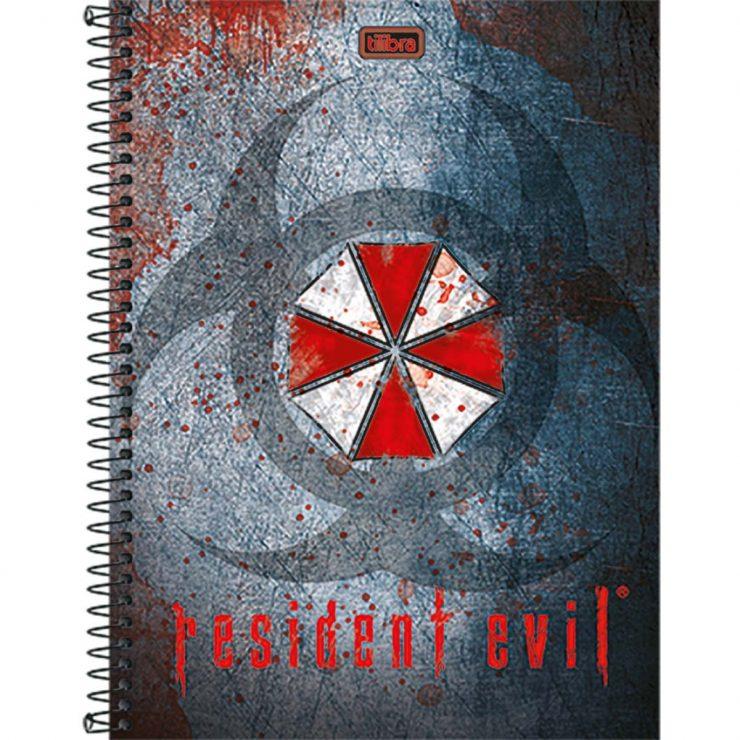 caderno-espiral-capa-dura-universitario-10-materias-resident-evil-200fls-0d50e428235b407db630bb712dbb5d0f