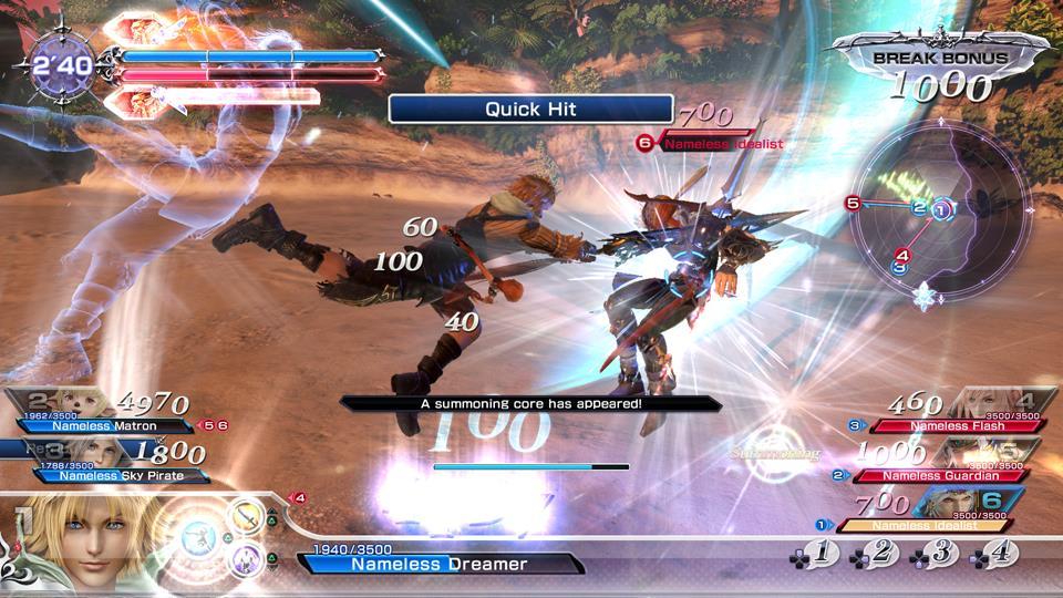 Foto 10 do jogo Dissidia Final Fantasy NT – Review