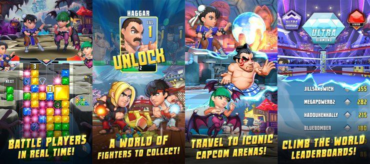 Resultado de imagem para capcom puzzle fighter android