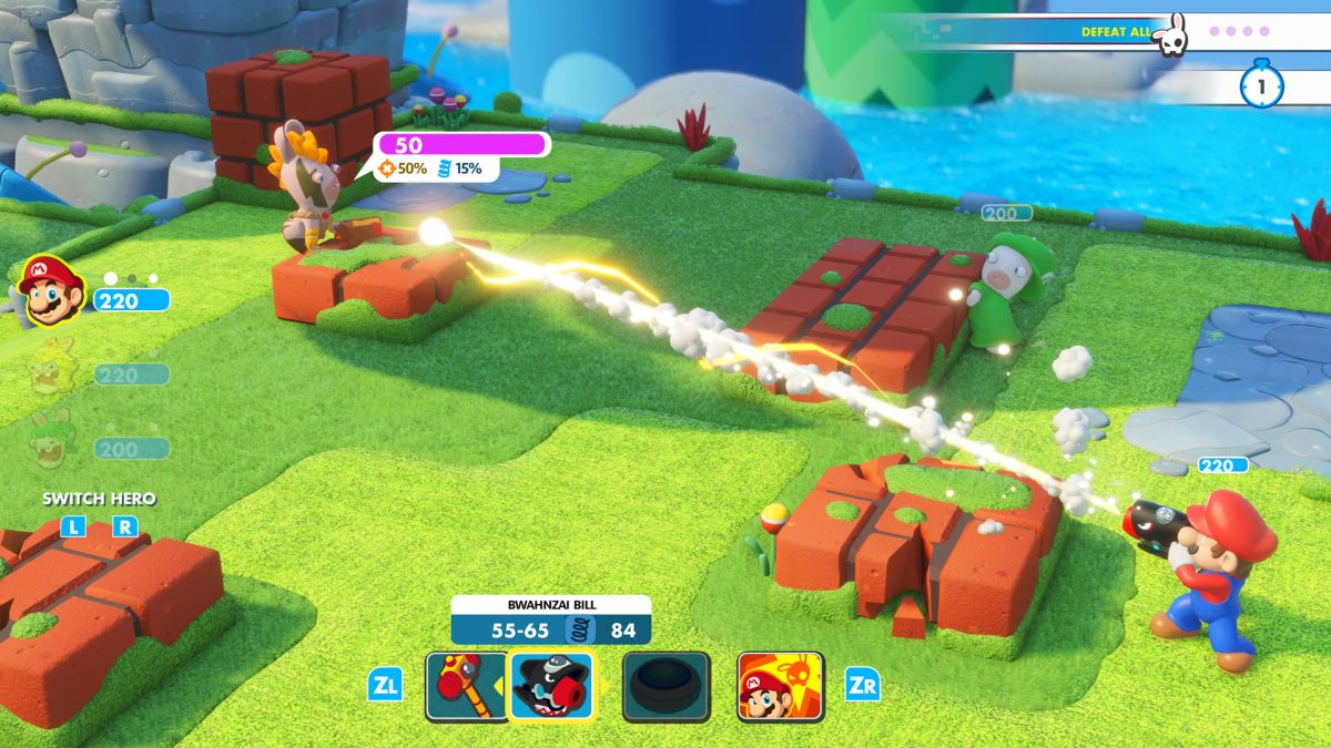 Foto 2 do jogo Mario + Rabbids Kingdom Battle – Review