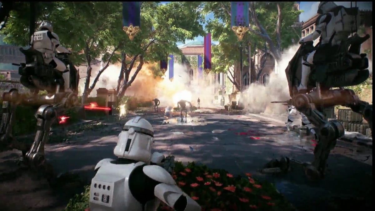 Foto 1 do jogo Star Wars Battlefront 2