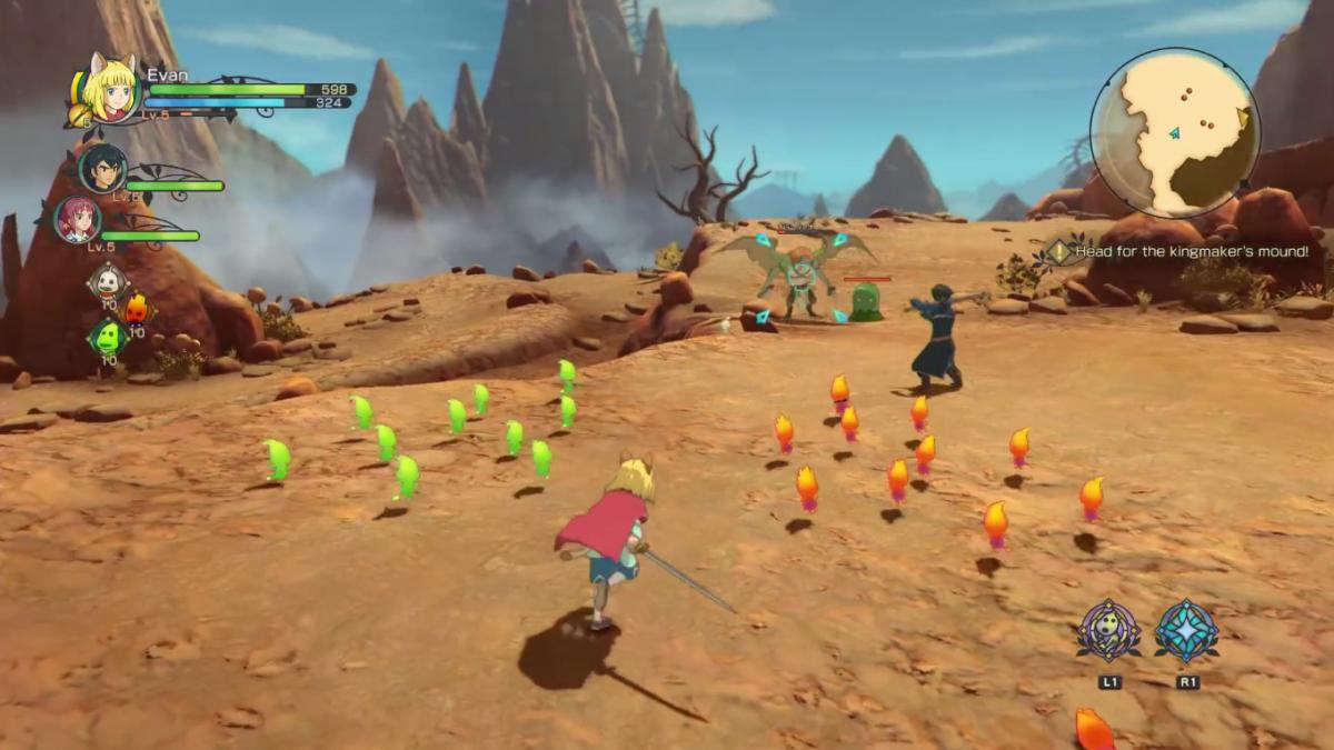 Foto 3 do jogo Ni No Kuni 2: Revenant Kingdom