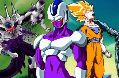 Dragon Ball Z Cooler Freeza Goku