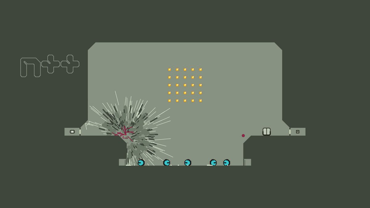 Foto 2 do jogo N++ Ultimate Edition (Nintendo Switch) – Review
