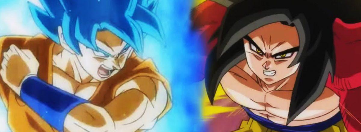 Super Saiyajin 4 versus Super Saiyajin Blue