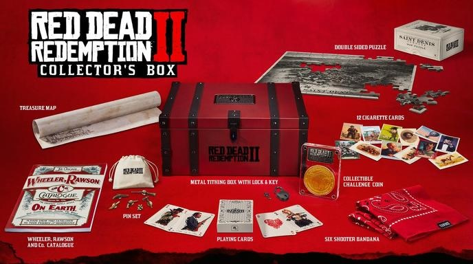 Collector's Box  Red Dead Redemption 2