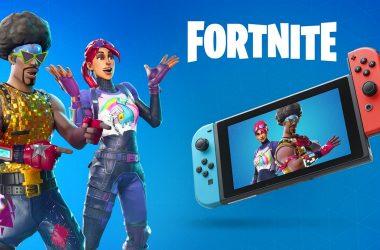 Fortnite no Nintendo Switch não terá crossplay com o PlayStation 4