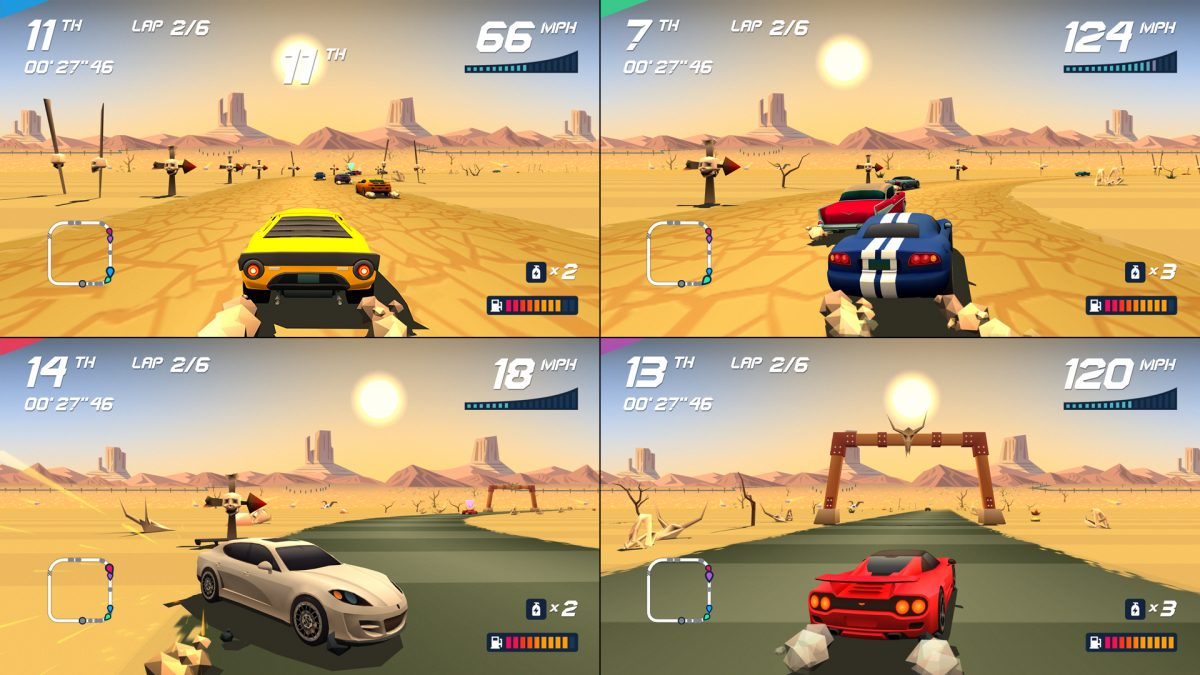 Foto 2 do jogo Horizon Chase Turbo – Review