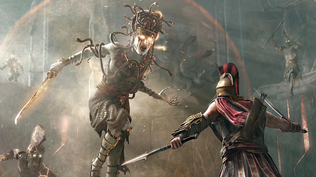A Medusa de Assassin's Creed Odyssey