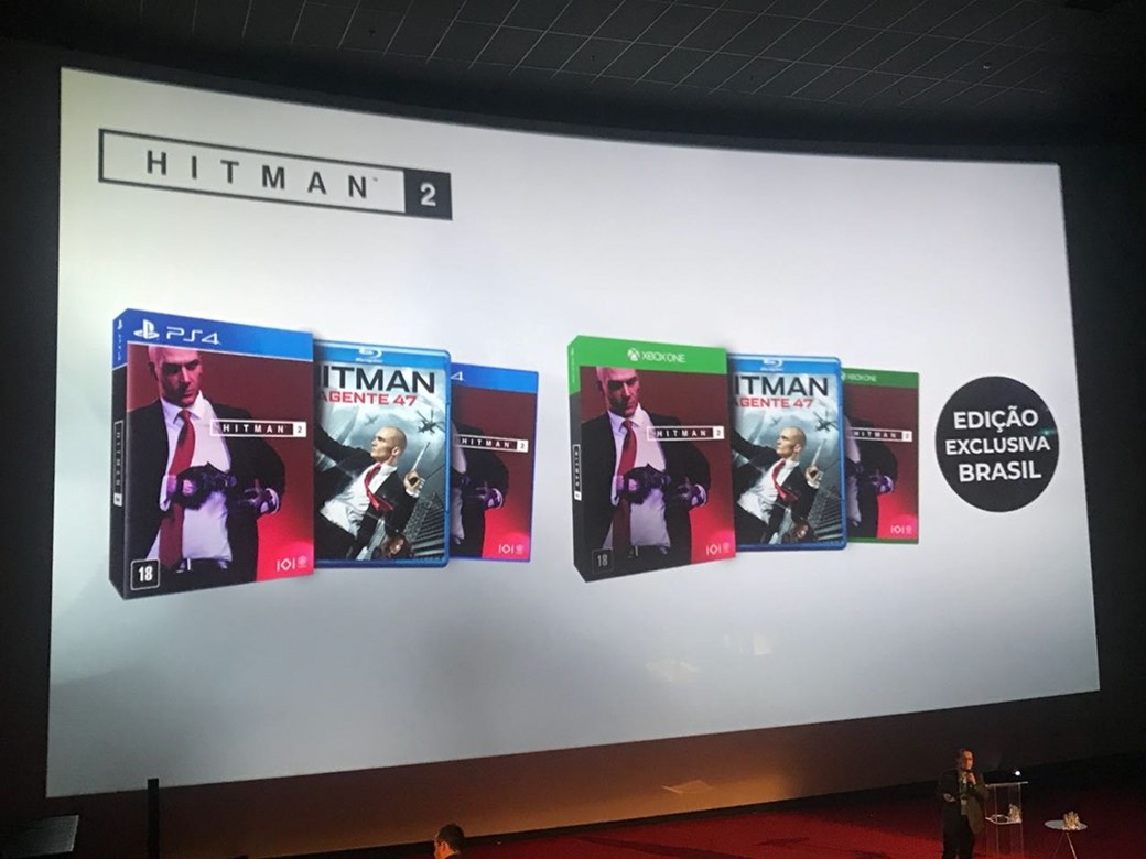 Bundle exclusivo do Brasil de Hitman 2
