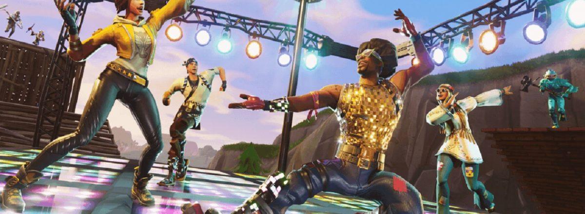 Nova atualização de Fortnite traz o modo de jogo Dominação na Discoteca e uma nova arma para o Battle Royale