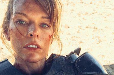 Nova foto do filem de Monster Hunter mostra Milla Jovovich equipada com armadura e slinger