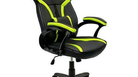 Cadeira Gamer Mymax Mx1 Giratória - Preta/Verde