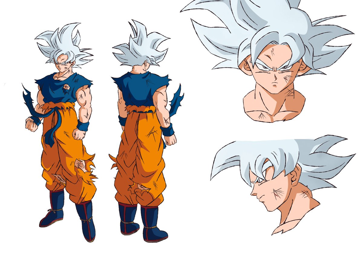 Este Será O Visual De Goku Usando O Instinto Superior Em