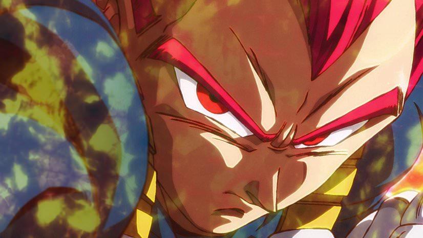 Vegeta Super Sayajin God - Dragon Ball Super Broly Trailer #3