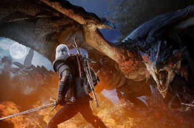 Capcom anuncia expansão de Monster Hunter World e crossover com Geralt of Rivia, de The Witcher