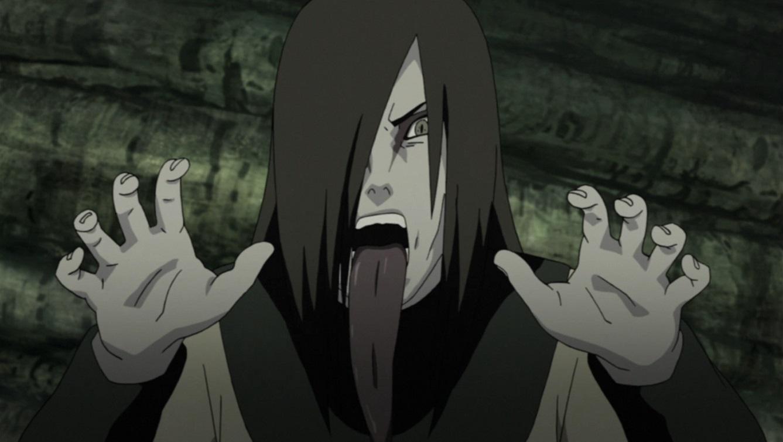 Top 5 personagens mais assustadores de Naruto Orochimaru_Intimidating