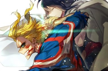 Confira essa estatueta incrível de My Hero Academia que recria o épico momento da luta de All Might contra All for One