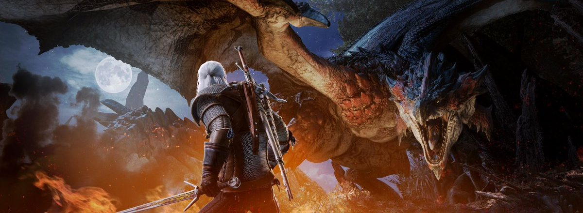 Crossover de The Witcher com Monster Hunter: World chega em fevereiro