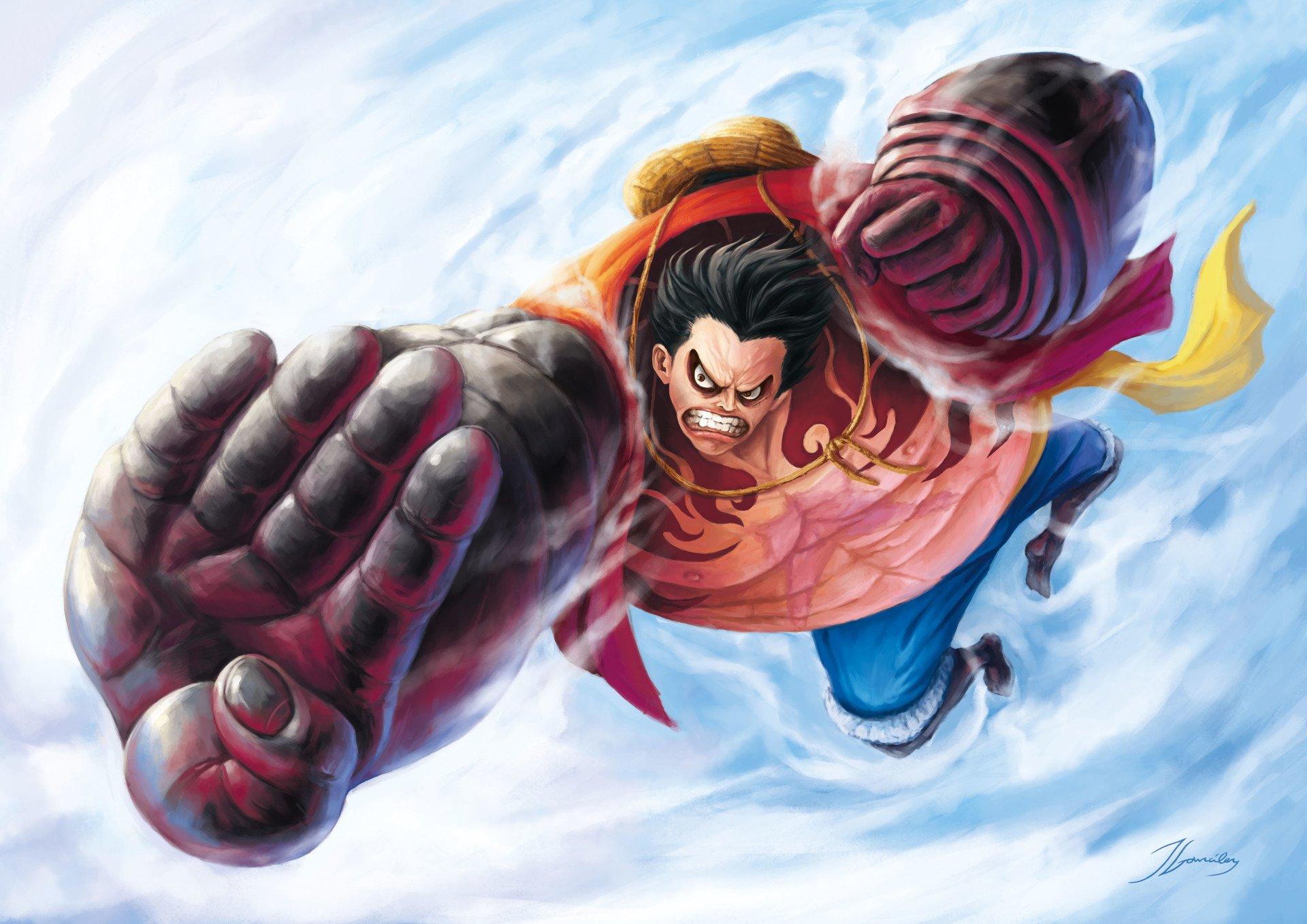 Luffy Gear 4 Tattoo: Estes São Os 8 Personagens Mais Fortes E Apelões Que