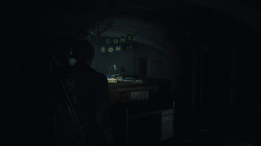 Resident Evil 2 Remake Armários Senhas