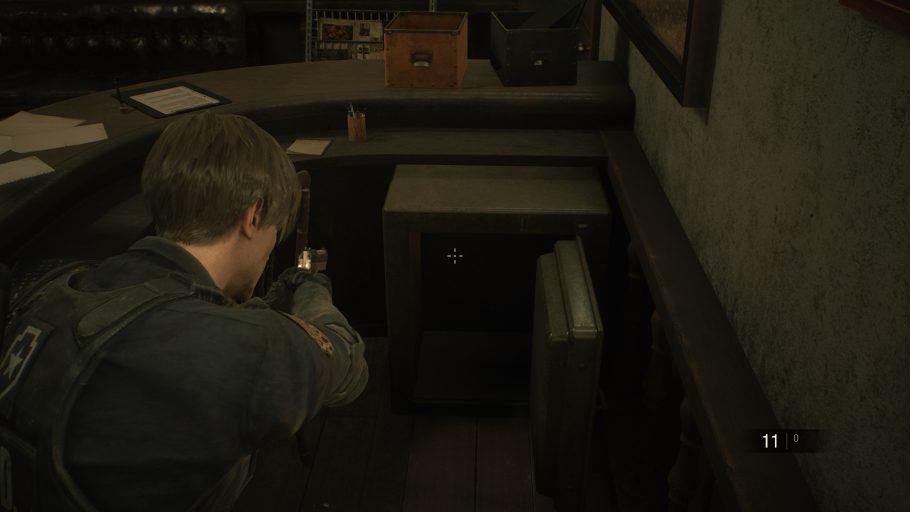 Resident Evil 2 Remake Cofres Senhas