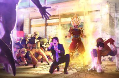 Jump Force ganha engraçado teaser live-action e trailer de lançamento