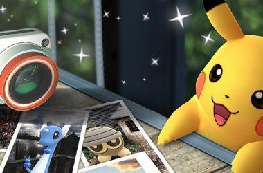 Niantic anuncia modo fotografia para Pokémon GO