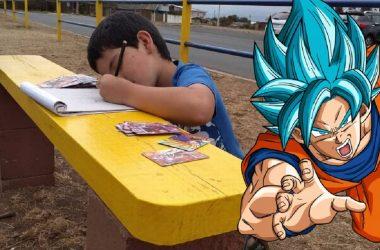 Conheça a história do garoto chileno que vendia os seus desenhos para comprar um boneco de Dragon Ball