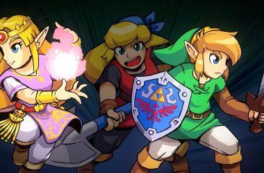 Nintendo anuncia um crossover incrível entre Zelda e Crypt Of The NecroDancer