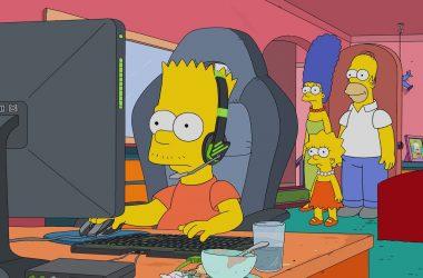 Novo episódio de Os Simpsons mostrará Bart tentando ser um jogador profissional de Esports