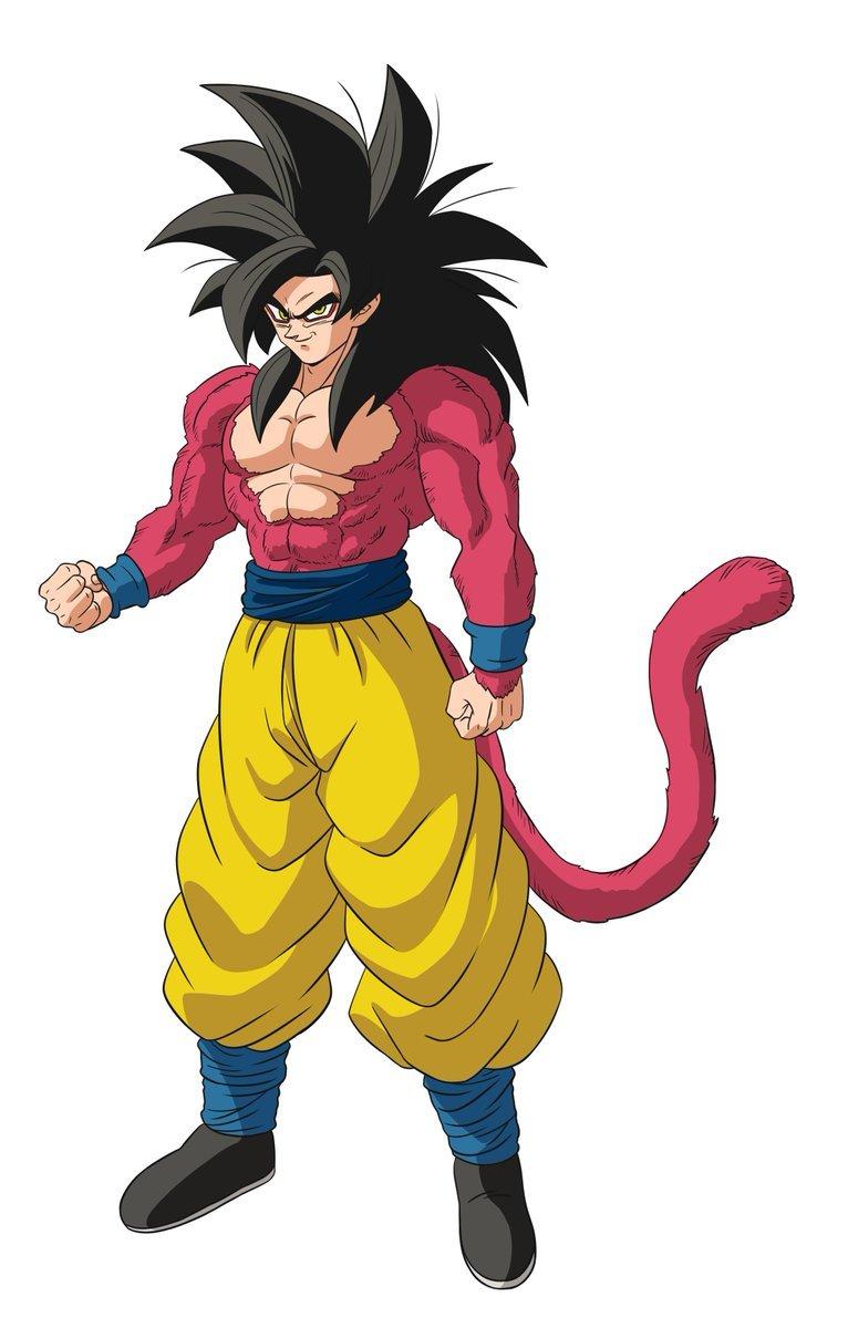 Este Seria O Visual De Goku Super Saiyajin 4 Em Dragon Ball Super
