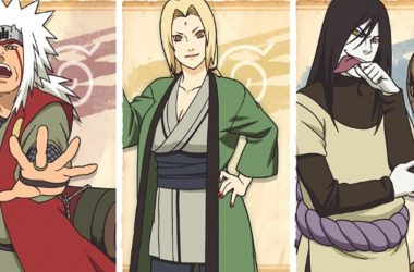 Entenda o motivo dos três Sannins terem abandonado Konoha