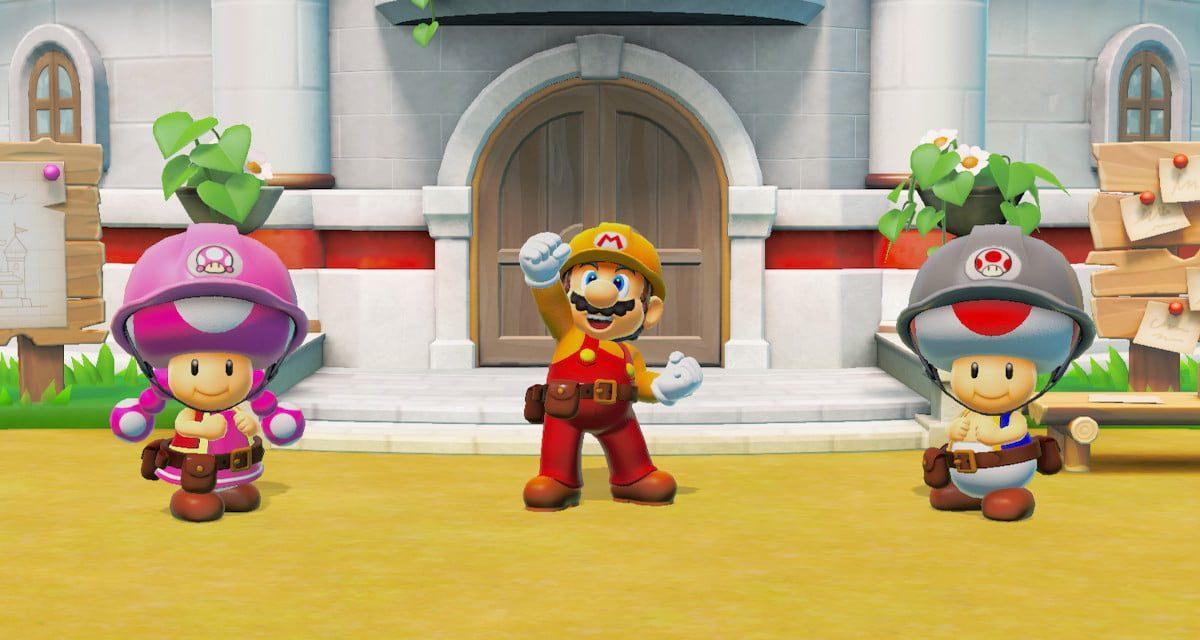 Foto 1 do jogo Super Mario Maker 2
