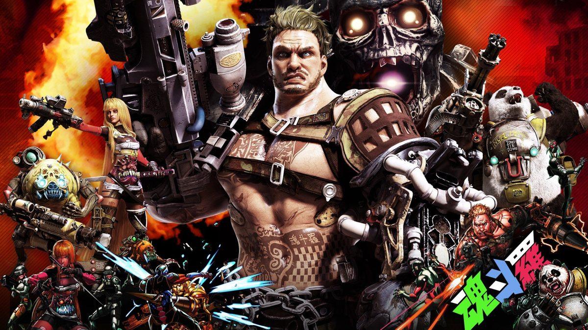 Foto 1 do jogo Contra: Rogue Corps