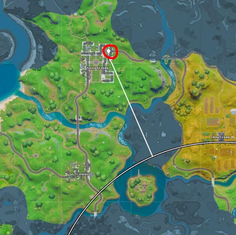 Saiba Em Que Locais Do Novo Mapa De Fortnite Ficam Os