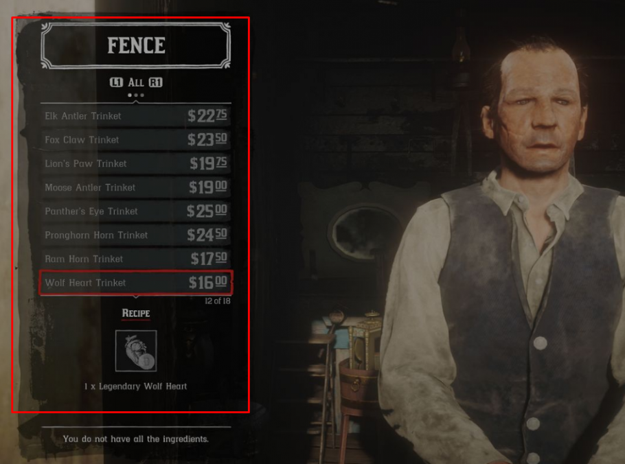 Red Dead Redemption 2 Perks