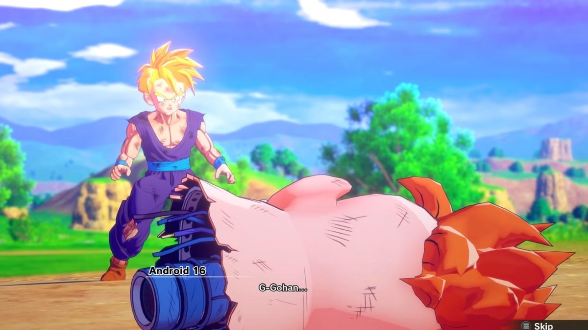 gohan androide 16