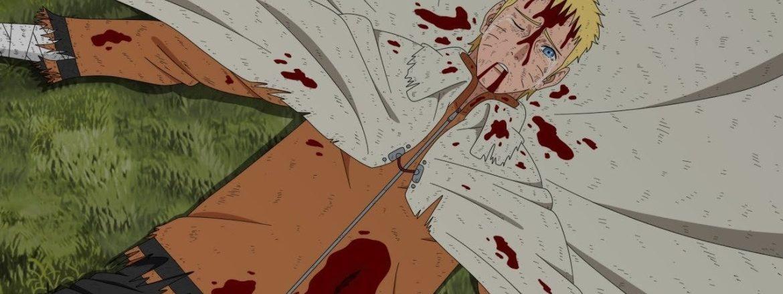 Boruto Mangá 44 Naruto Morto