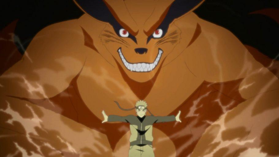 Qual habilidade exclusiva Kurama concedeu para Naruto?